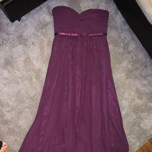 Beautiful purple gala dress